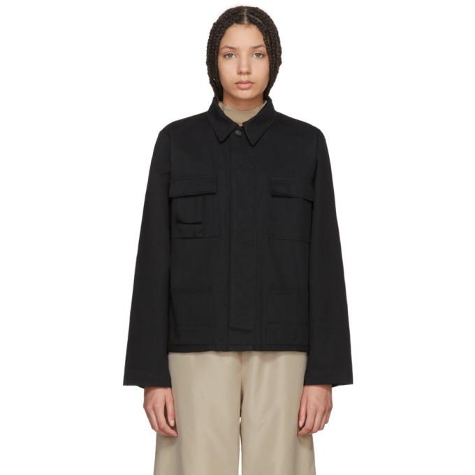 032c Black WWB Workers Jacket