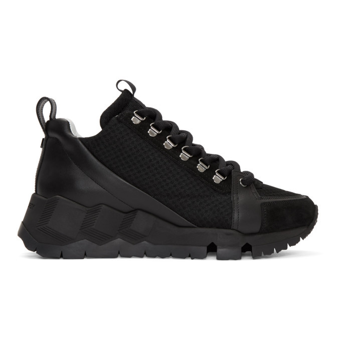 Photo: Pierre Hardy Black Alpine High-Top Sneakers