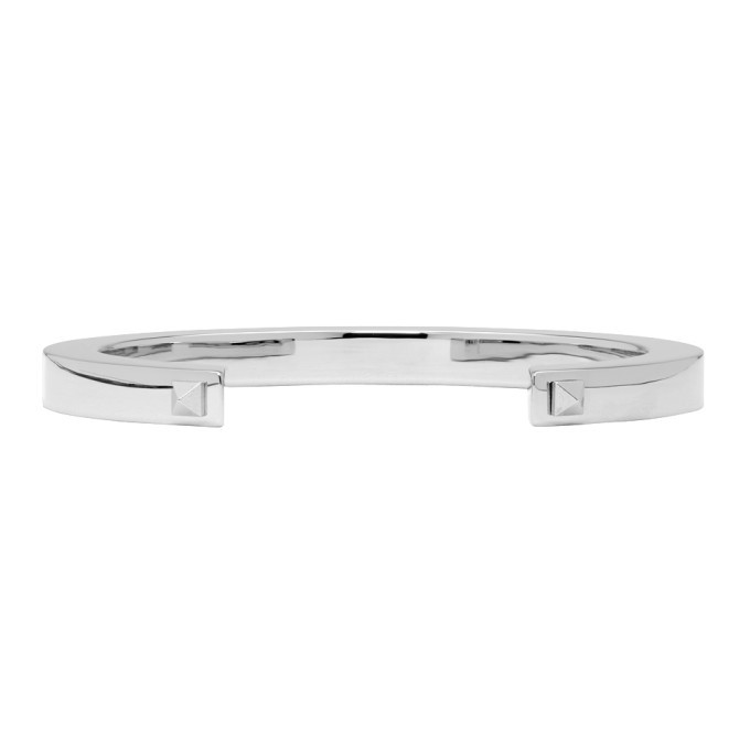 Photo: Valentino Silver Valentino Garavani Stud Cuff Bracelet
