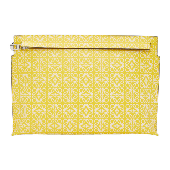 Photo: Loewe Yellow Repeat T Pouch