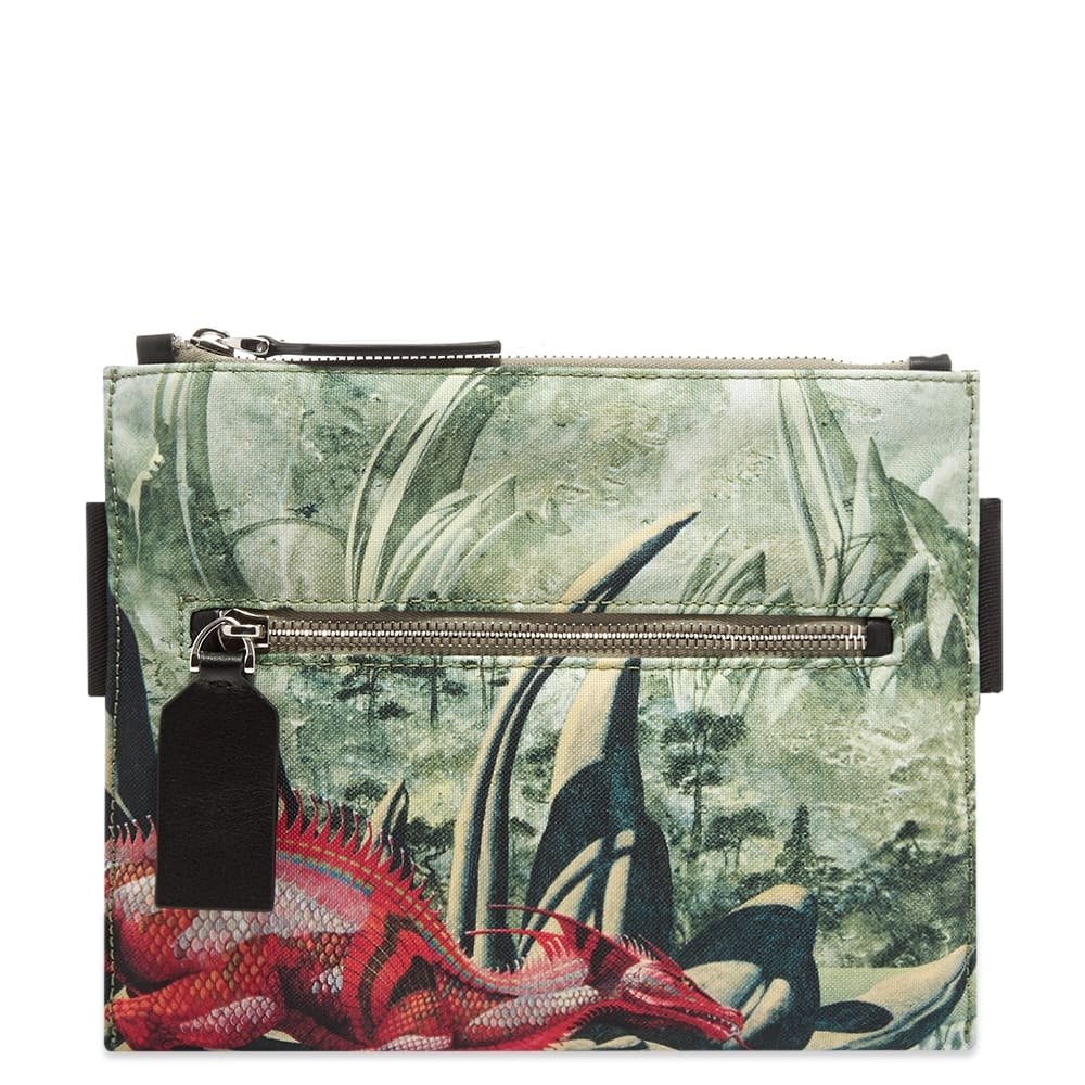 Photo: Valentino x Roger Dean Red Dragon Nylon Cross Body Bag