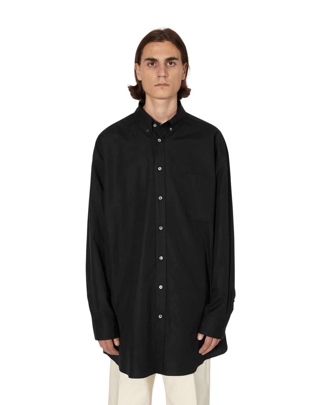 Photo: Maison Margiela Button Down Shirt Black