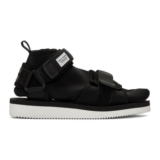 Photo: Suicoke Black Maharishi Edition Kuno Sandals