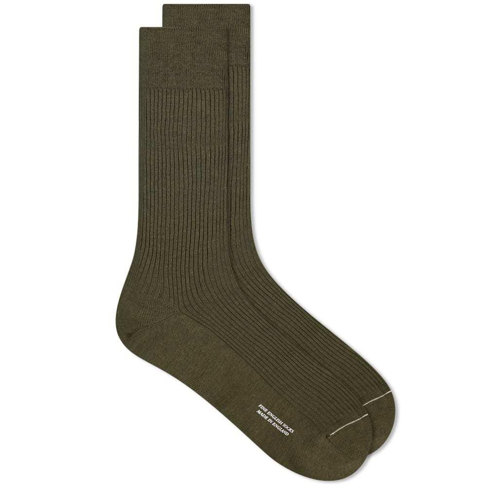 Margaret Howell Fine Rib Sock