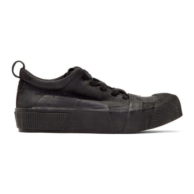 Photo: Boris Bidjan Saberi Black Waxed Sneakers