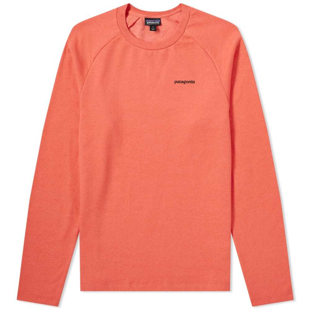 Photo: Patagonia P-6 Logo Lightweight Crew Sweat Spiced Coral