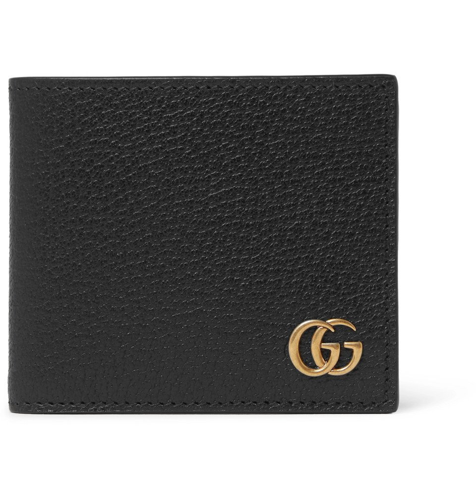 Photo: Gucci - Marmont Full-Grain Leather Billfold Wallet - Black
