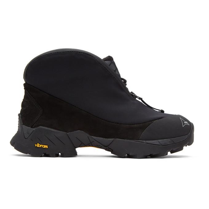 Photo: ROA Black Scubo Teri Ankle Boots