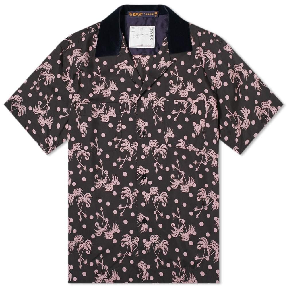 Sacai x Sun Surf Palm Tree Print Shirt