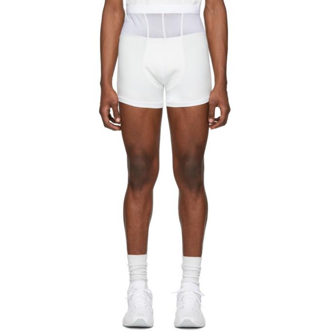 Photo: Bianca Saunders White Fresh Pair Shorts