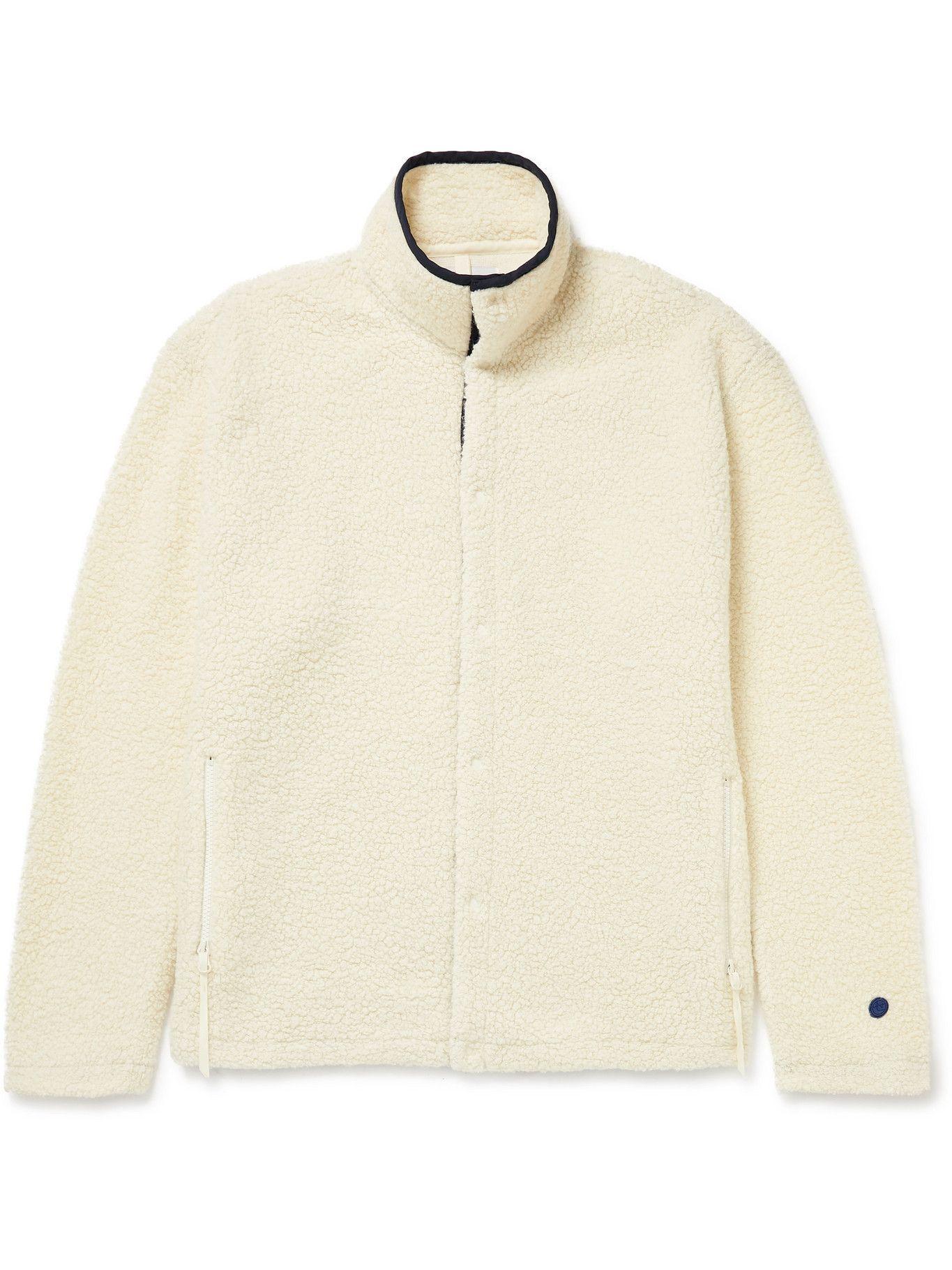 Photo: nanamica - Wool-Blend Fleece Jacket - Neutrals