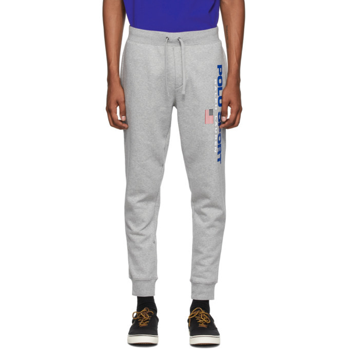 Photo: Polo Ralph Lauren Grey Polo Sport Fleece Lounge Pants