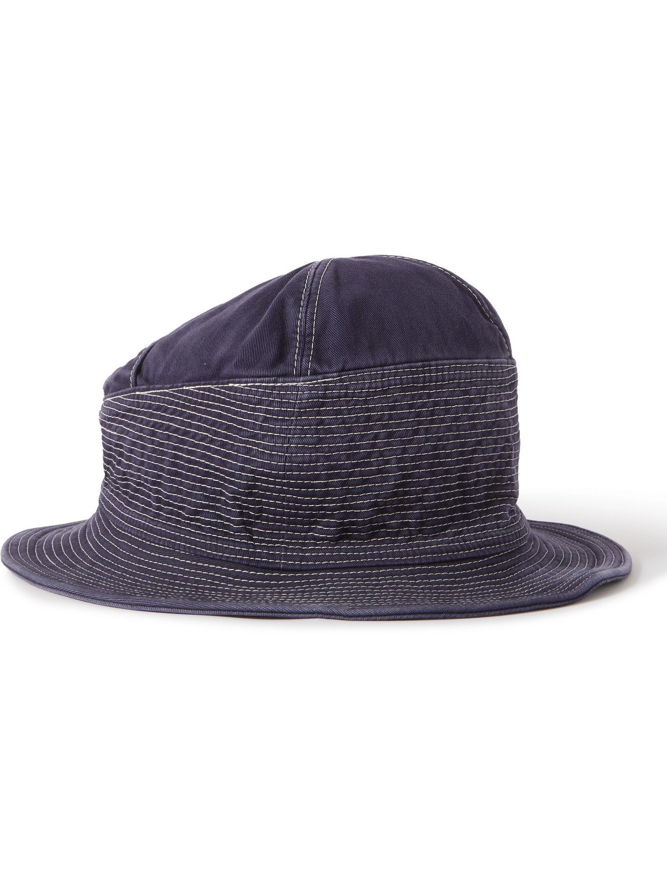 KAPITAL - Quilted Cotton Bucket Hat