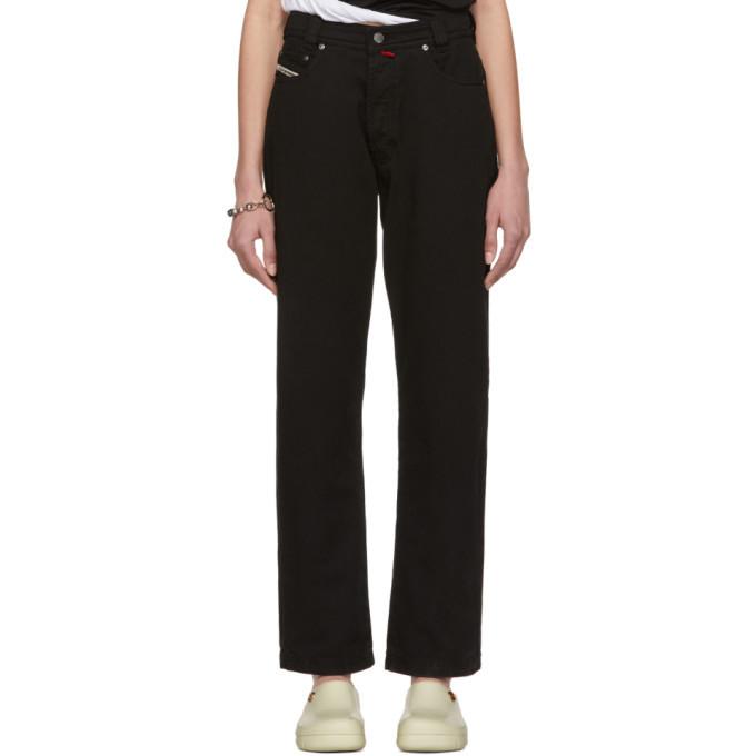 032c Black Cosmic Workshop Soft Washed Jeans
