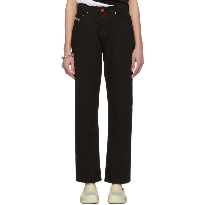 Photo: 032c Black Cosmic Workshop Soft Washed Jeans
