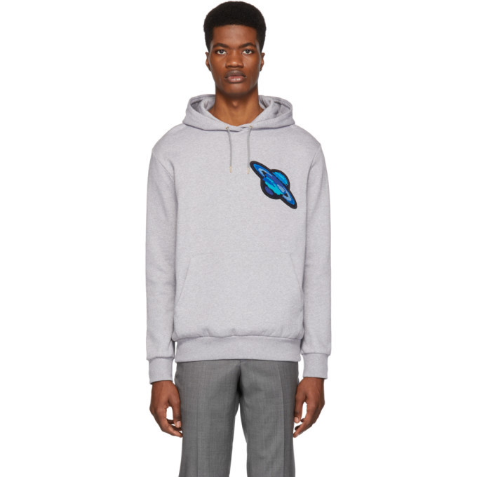 Photo: Paul Smith Grey Saturn Hoodie