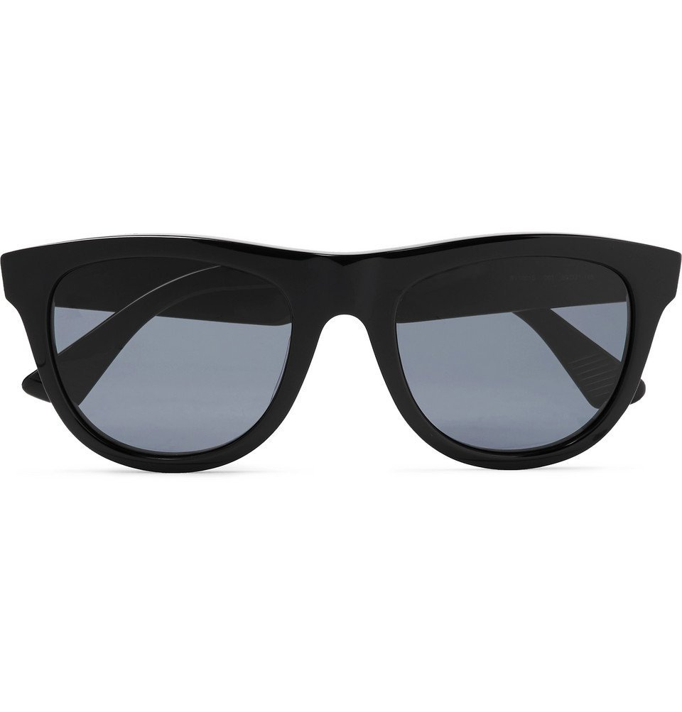 Bottega Veneta - D-Frame Acetate Sunglasses - Black