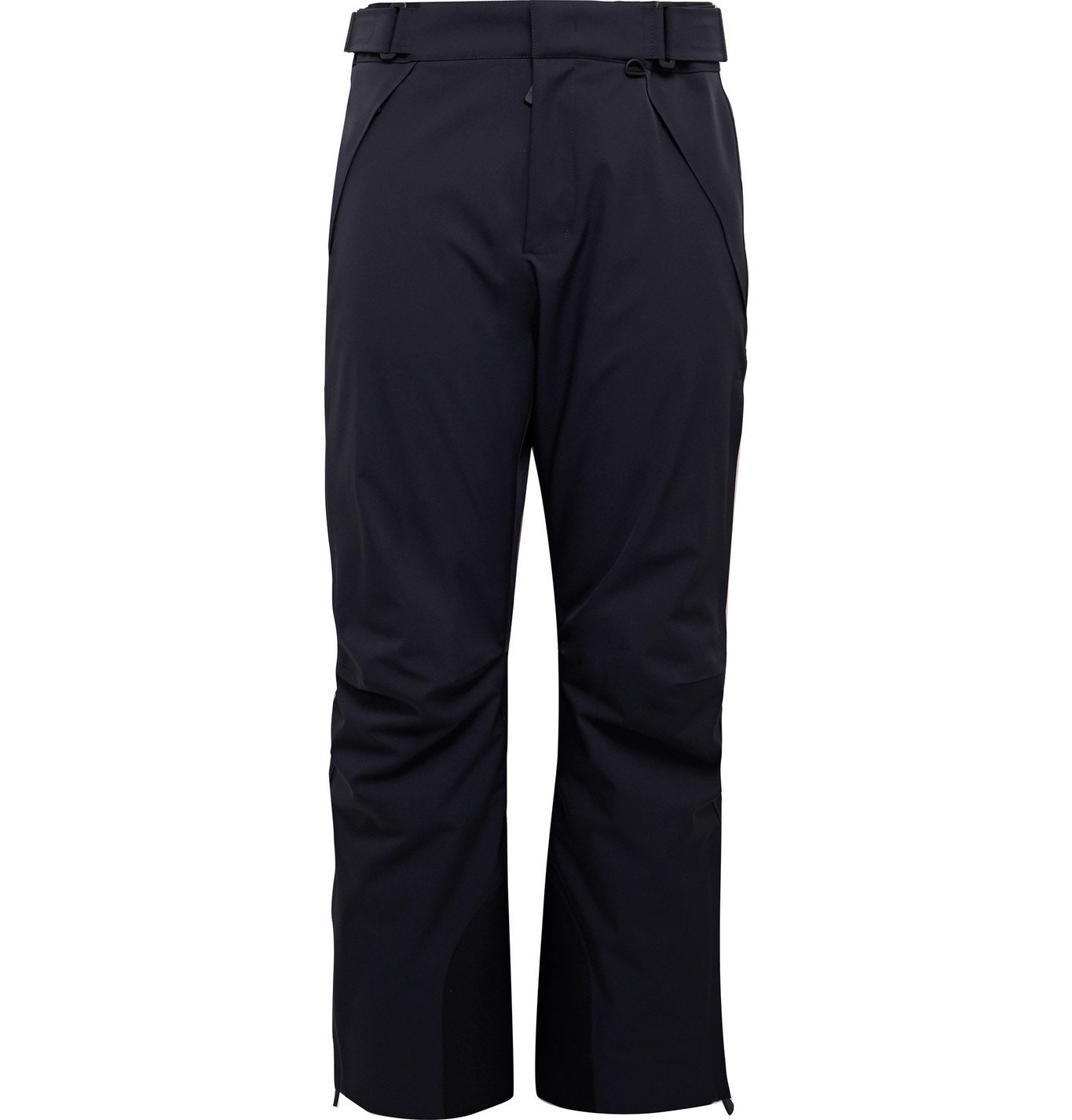 Photo: Moncler Grenoble - Canvas-Trimmed Shell Ski Trousers - Blue