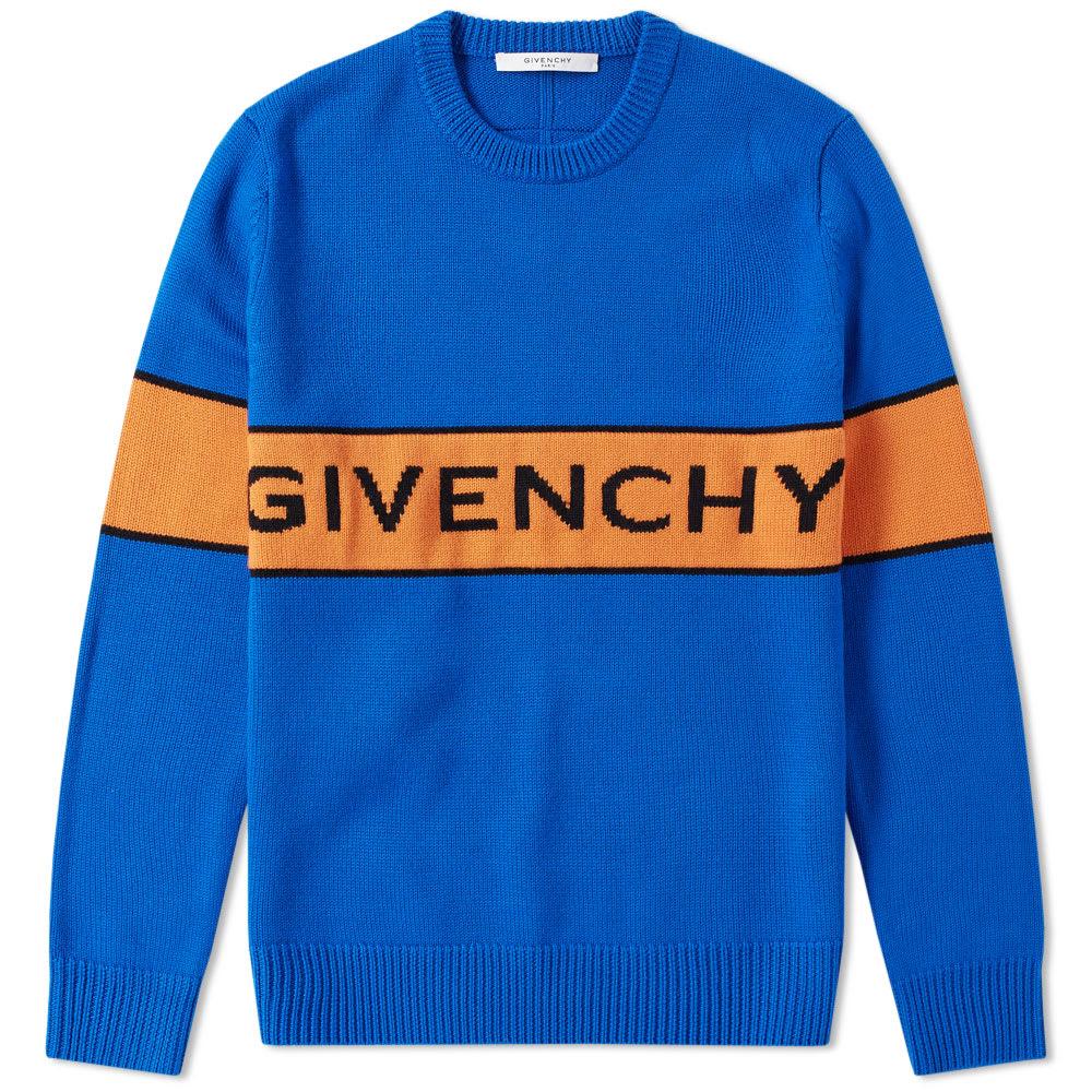 Photo: Givenchy Logo Band Crew Neck Knit