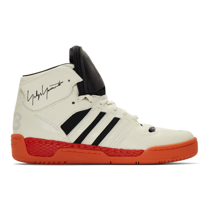 Photo: Y-3 Off-White and Black Hayworth Sneakers