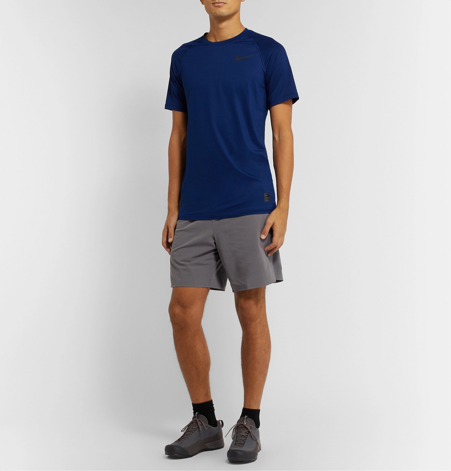 Photo: Arc'teryx - Konseal Fl Ripstop and Rubber Sneakers - Gray