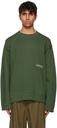 Ambush Green Raw Edge Sweatshirt