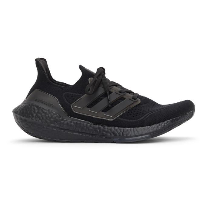 adidas Originals Black Ultraboost 21 Sneakers