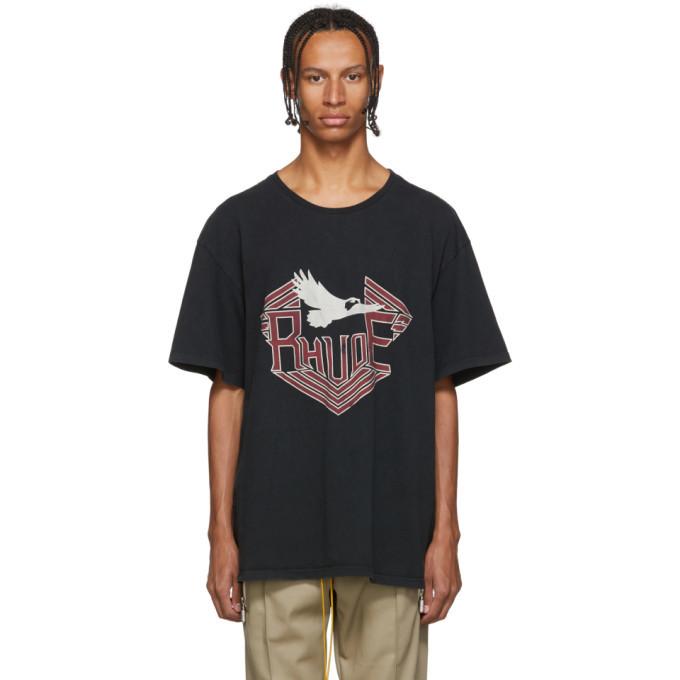Photo: Rhude Black Rhanger T-Shirt