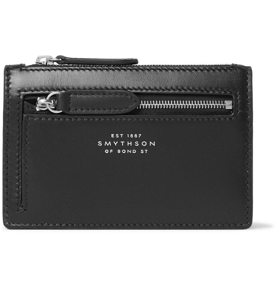 Smythson - Leather Wallet - Black