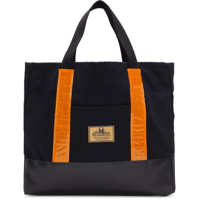 Photo: Junya Watanabe Black Seil Marchall Edition Canvas Tote