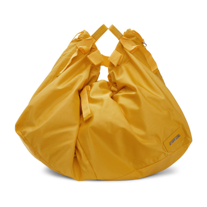 Photo: Jacquemus Yellow Le Sac A Linge Tote