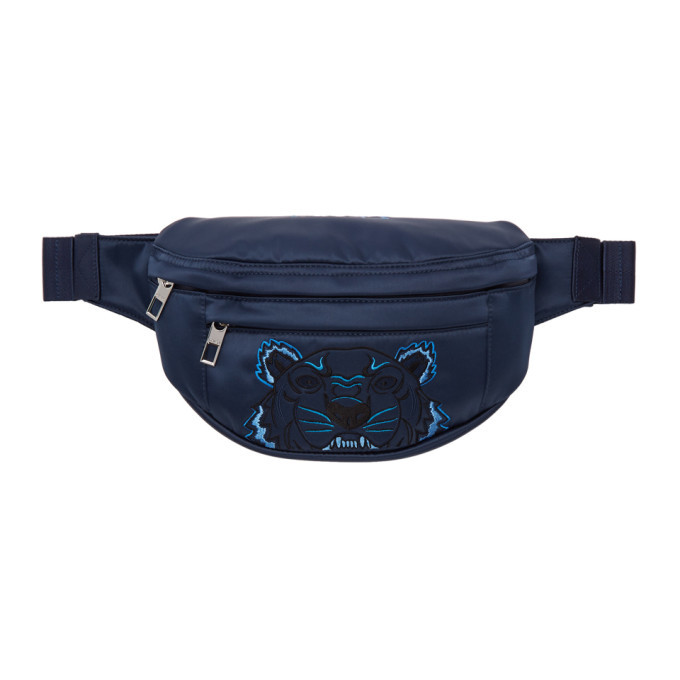 Photo: Kenzo Navy Limited Edition Holiday Tiger Bum Bag