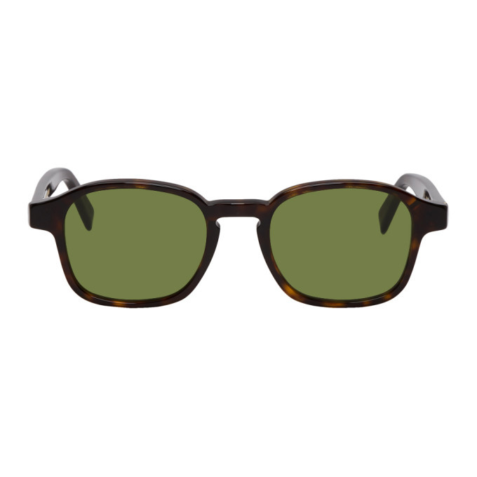 Photo: Super Tortoiseshell and Green Sol Sunglasses
