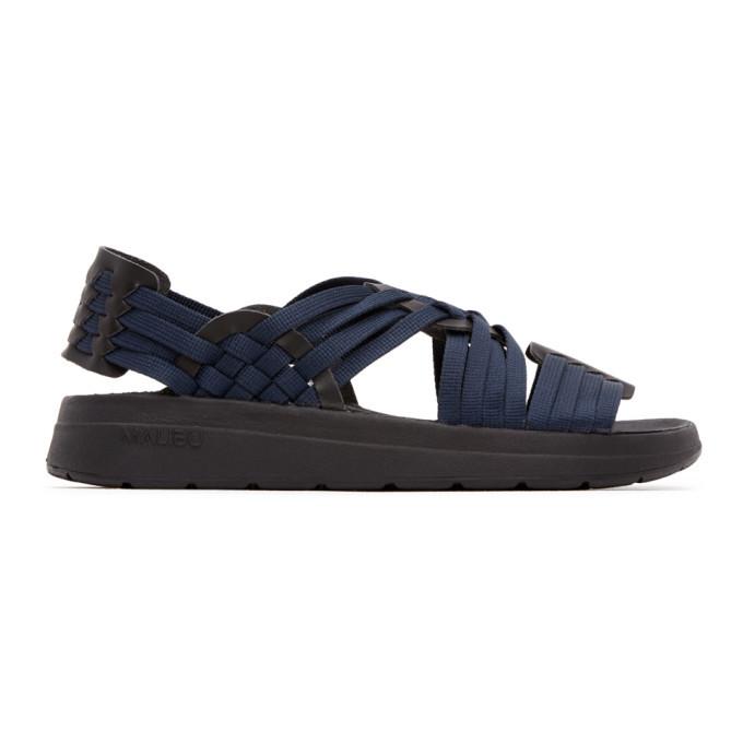 Photo: Malibu Sandals Navy and Black Canyon Sandals