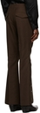 Yuki Hashimoto Orange Wool Flared Trousers