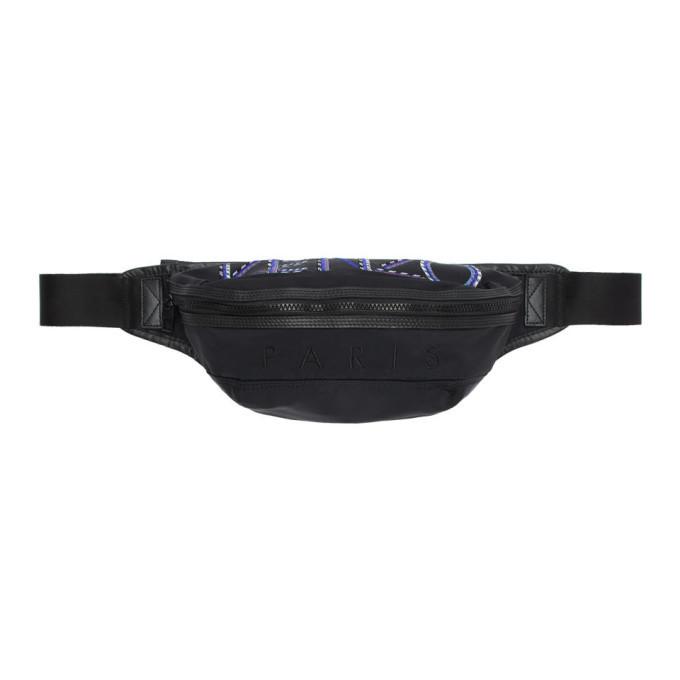 Photo: Kenzo Black Nylon Sport Cord Bum Bag