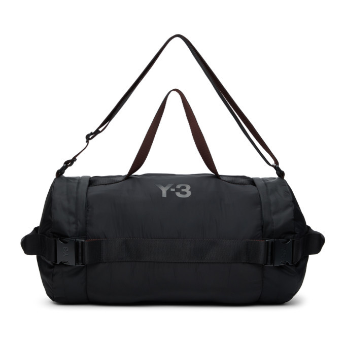 Photo: Y-3 Black Nylon CH2 Gym Duffle Bag