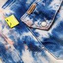 KAPITAL - Tie-Dyed Denim Shirt - Blue