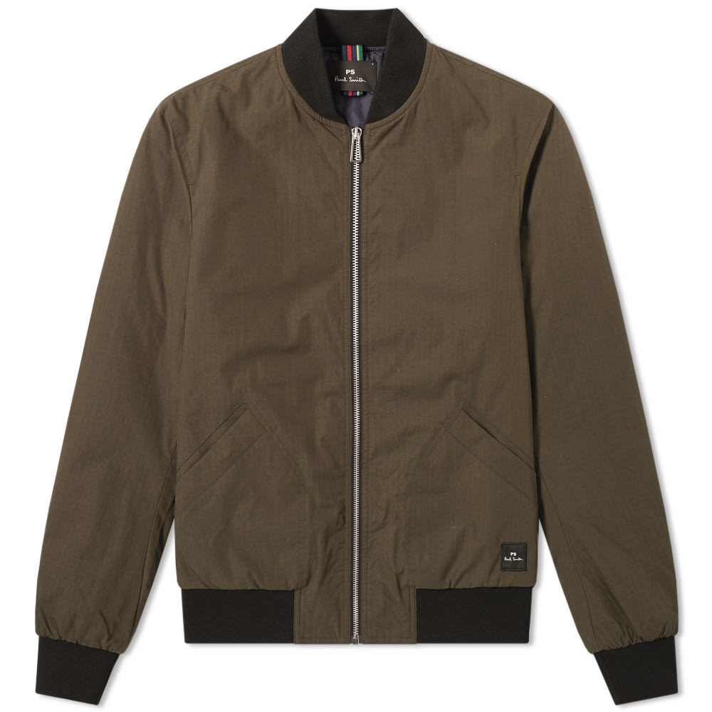 Photo: Paul Smith Ripstop Bomber Jacket