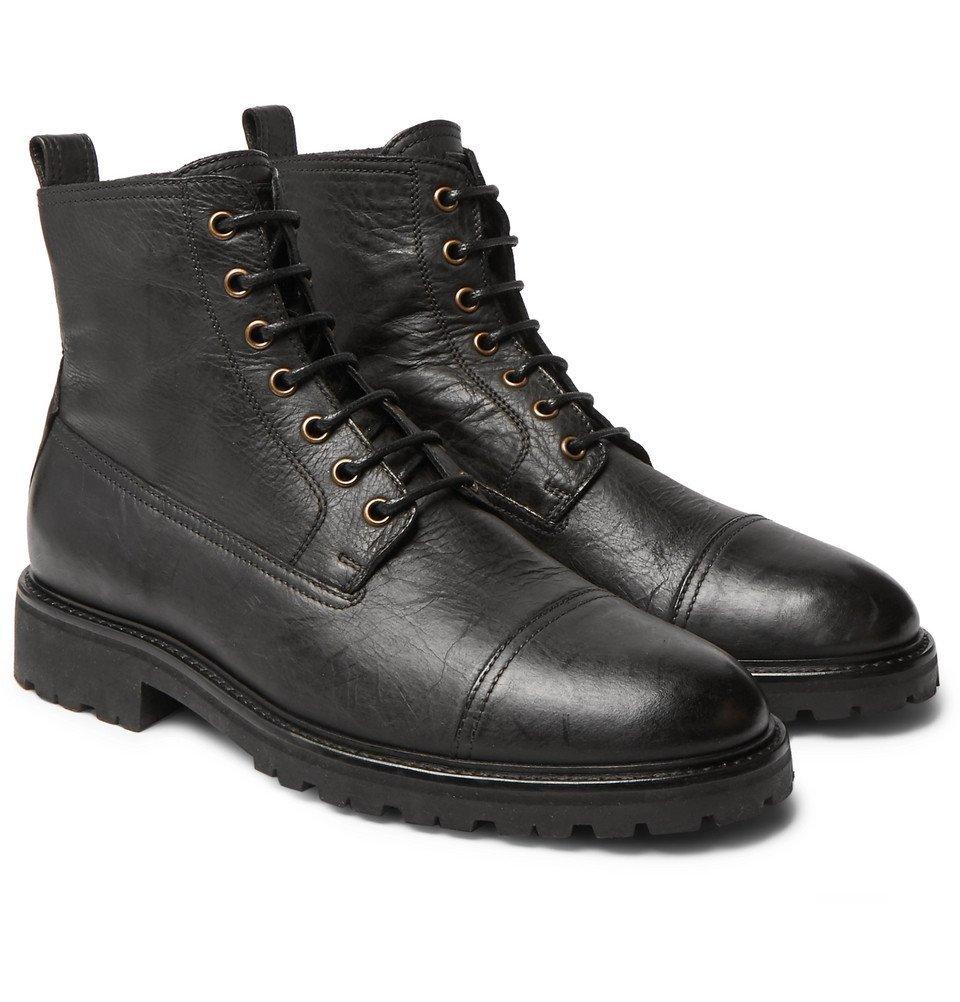 Belstaff - Alperton 2.0 Leather Boots - Black