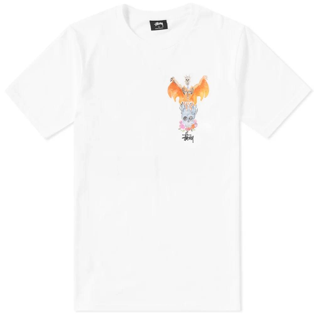 Photo: Stussy Phoenix Tee