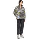 MCQ Multicolor Sherpa Fleece Half-Zip Sweater