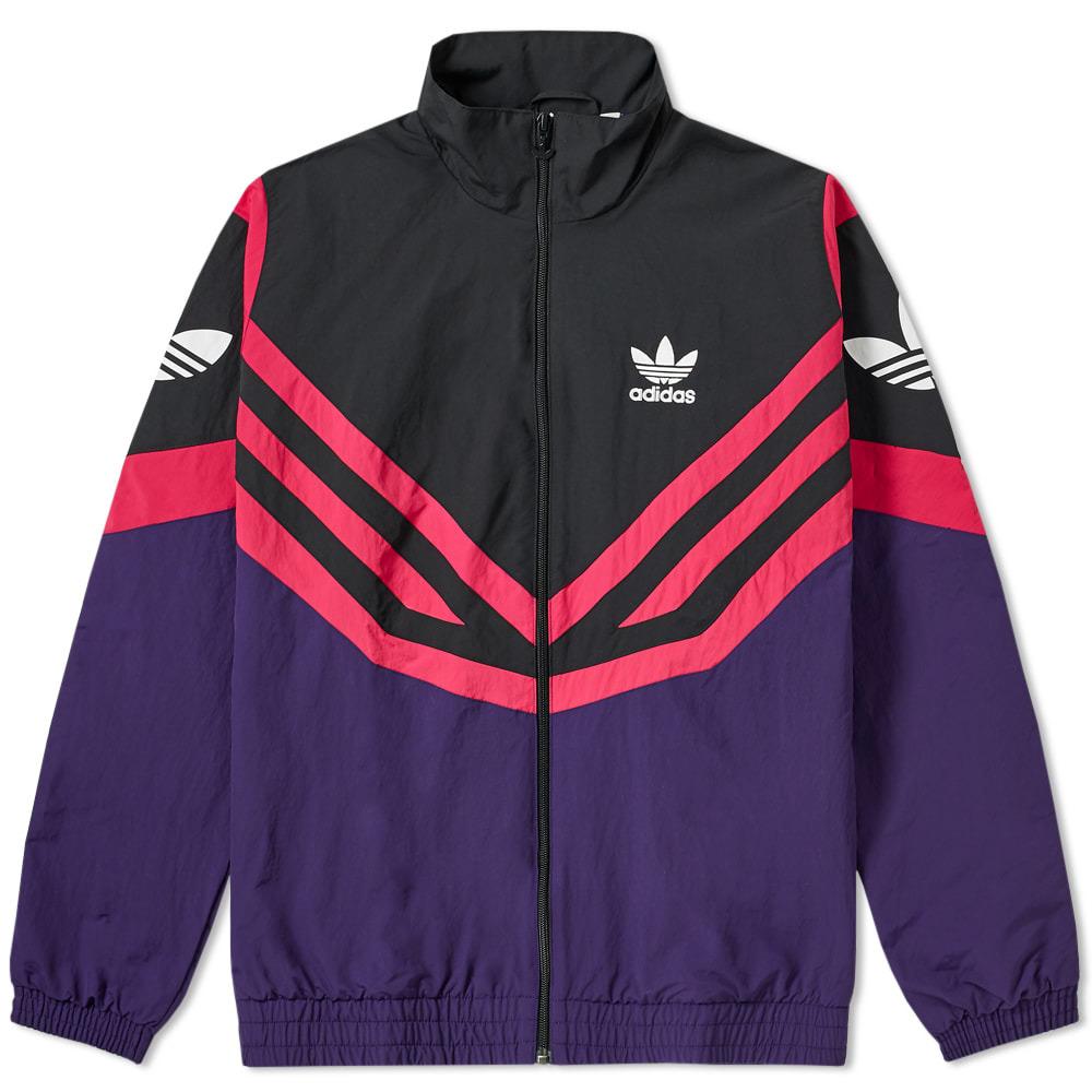 Photo: Adidas Sportive Track Jacket Dark Purple
