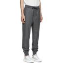 3.1 Phillip Lim Grey Cropped Drop Lounge Pants