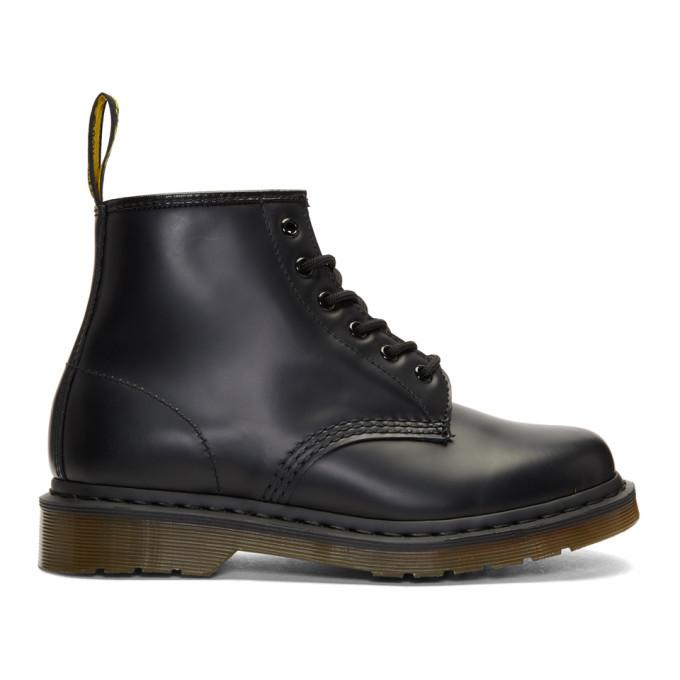 Photo: Dr. Martens Black 101 Lace-Up Boots