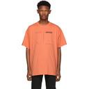 Raf Simons Orange Drugs Regular Fit T-Shirt