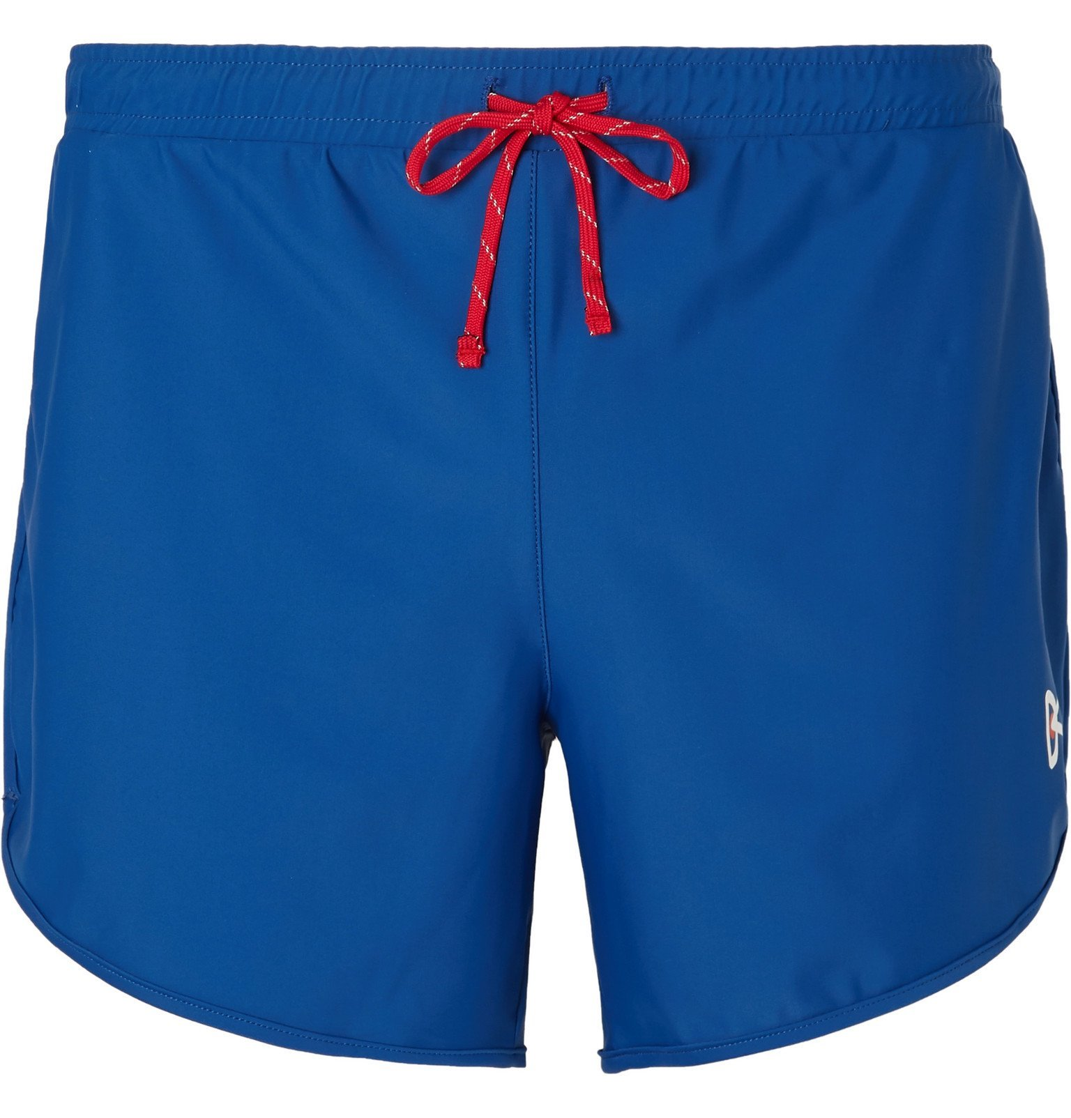 Photo: DISTRICT VISION - Spino Slim-Fit Stretch-Shell Shorts - Blue