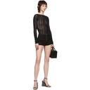 1017 ALYX 9SM Black Knit Bodysuit