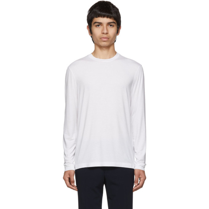 Giorgio Armani White Viscose Sweater