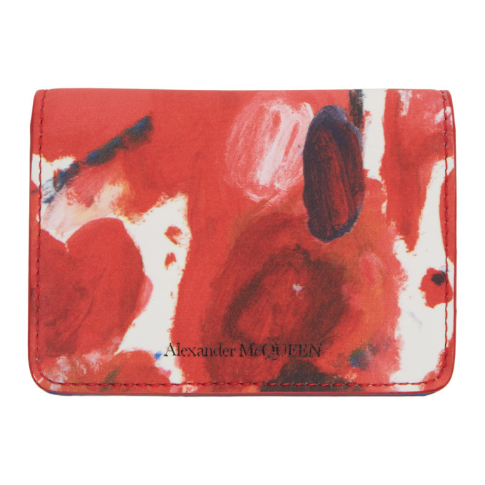 Photo: Alexander McQueen Multicolor Business Card Holder